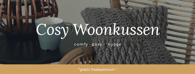 Cosy Woonkussen Met Haakpatroon Happiness With Yarn